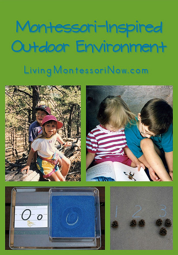 Montessori-Inspired Outdoor Environment