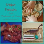 Make Fossils from Montessori at Home!