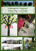 Montessori Monday – Montessori-Inspired Arbor Day Activities