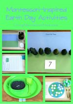 Montessori Monday – Free Earth Day Printables and Activities
