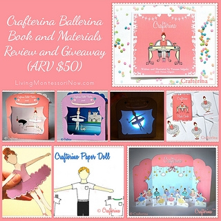 Crafterina Ballerina Book and Materials Review and Giveaway (ARV $50)