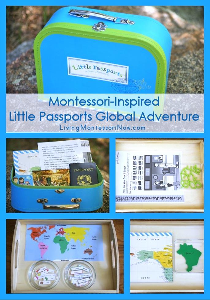 Montessori-Inspired Little Passports Global Adventure