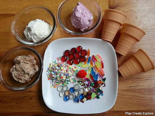 Ice Cream Dough (Photo from Play Create Explore)