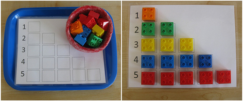LEGO Counting (Photo from Counting Coconuts)