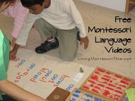 Free Montessori Language Videos