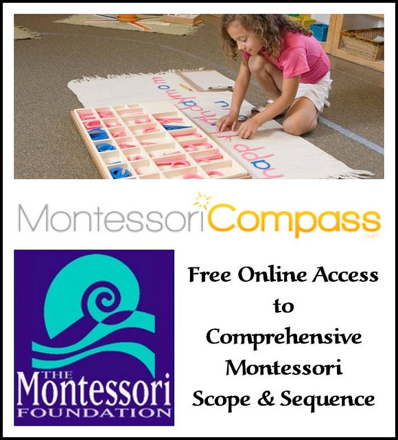 Free Online Access to Comprehensive Montessori Scope and Sequence