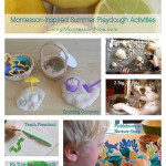 Montessori Monday – Montessori-Inspired Summer Playdough Activities