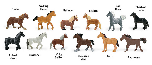 Horses TOOB Key (Image from Safari Ltd.)