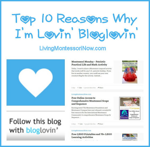Top 10 Reasons Why I'm Lovin' Bloglovin'