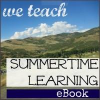 We Teach Summertime Learning eBook 2013