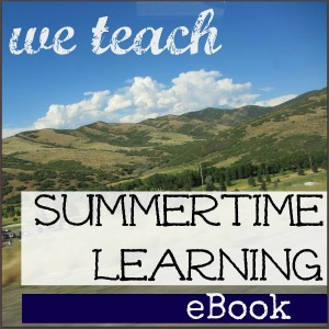 We Teach – Free Summertime Learning eBook 2013!