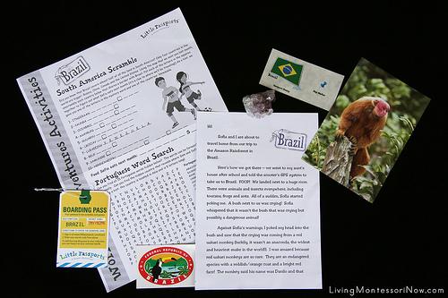 Little Passports World Adventure - Brazil