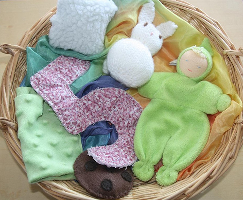 Treasure Basket - Soft (Photo from Counting Coconuts)