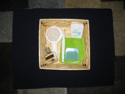Treasure Basket - Toiletries (Photo from Our Montessori Home)