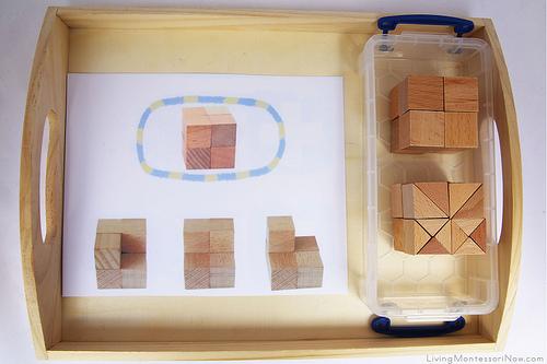 Build-a-Cube Activity