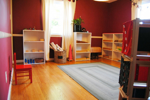 Community Homeschool Classroom (Photo from Vibrant Wanderings)
