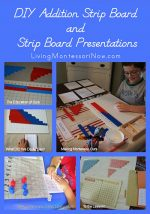 Montessori Monday – DIY Addition Strip Board and Strip Board Presentations