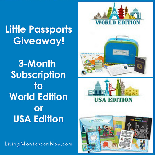 Little Passports Giveaway - 3-Month Subscription