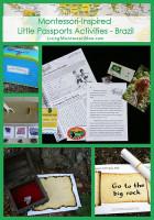 Montessori-Inspired Little Passports Activities - Brazil