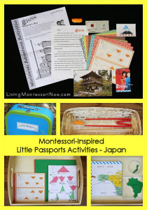 Montessori-Inspired Little Passports Activities - Japan
