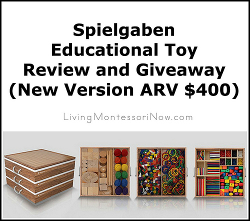 Spielgaben Educational Toy Review and Giveaway of New Version (ARV $400)