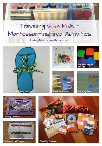 Traveling with Kids - Montessori-Inspired Activities