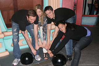 Tom, Christina, Will, and Chea Having Fun at Disneyland, 2009