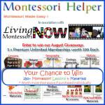 Giveaway – 5 Montessori Helper Premium Unlimited Memberships (ARV $99 each)!