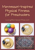 Montessori Monday – Montessori-Inspired Physical Fitness for Preschoolers