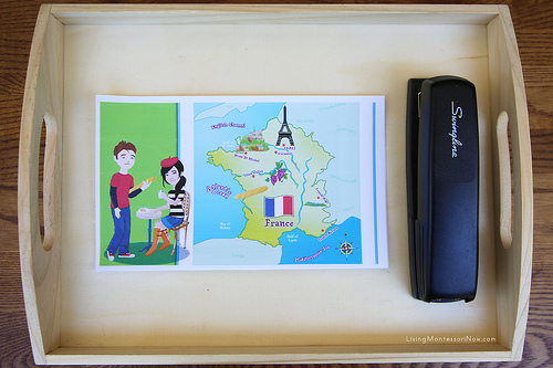 France Photo Booklet Activity