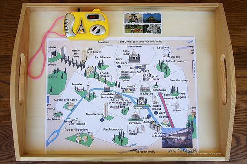 Paris Map and Camera Activity