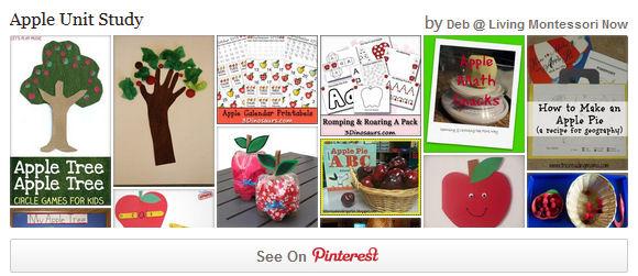 AppleUnit Study Pinterest Board