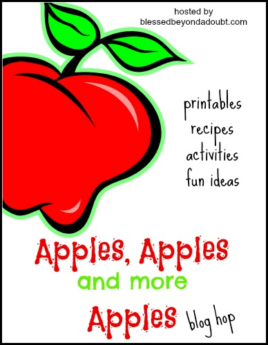 Apples, Apples and More Apples Blog Hop