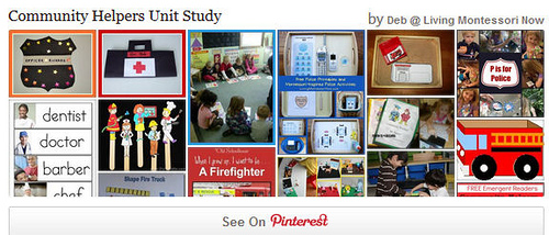 Community Helpers Unit Study Pinterest Board