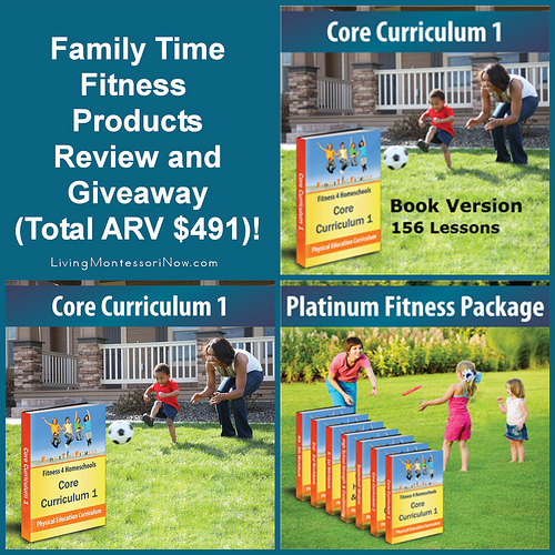 Family Time Fitness Products Review and Giveaway (Total ARV $491)!