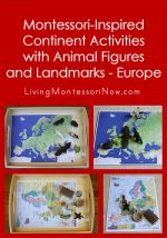 Montessori-Inspired Continent Activities with Animal Figures and Landmarks – Europe