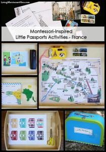 Montessori-Inspired Little Passports Activities - France