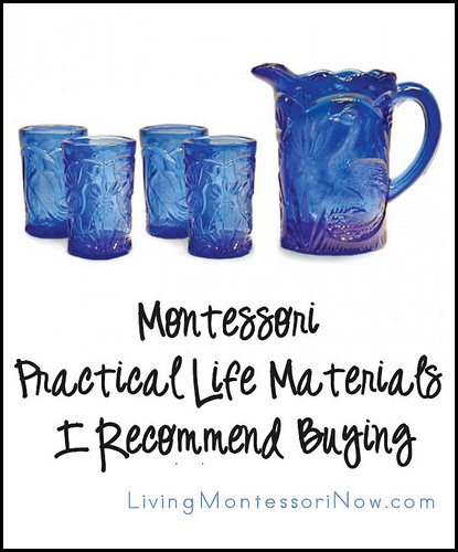 Montessori Practical Life Materials I Recommend Buying
