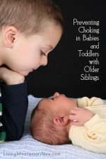 Preventing Choking in Babies and Toddlers with Older Siblings