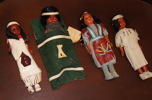 Native American Dolls (Photo from Making Montessori Ours)