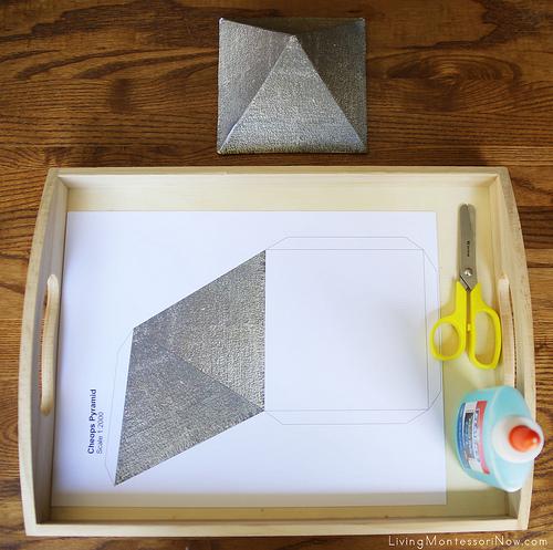 Make a 3-D Pyramid