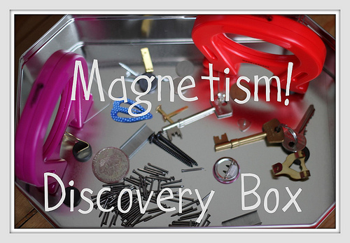 Magnetism Discovery Box (Photo from The Imagination Tree)