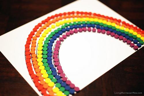Rainbow Layout