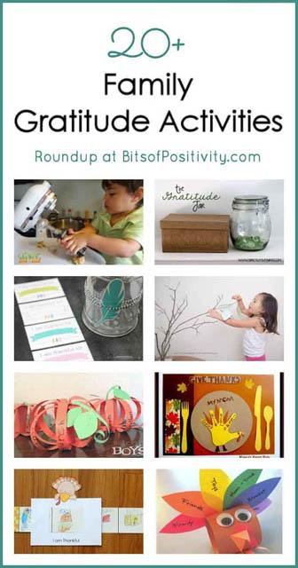 20+ Family Gratitude Activities