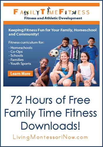 72 Hours of Free Family Time Fitness Downloads!