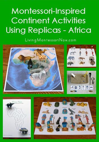 Montessori-Inspired Continent Activities Using Replicas - Africa