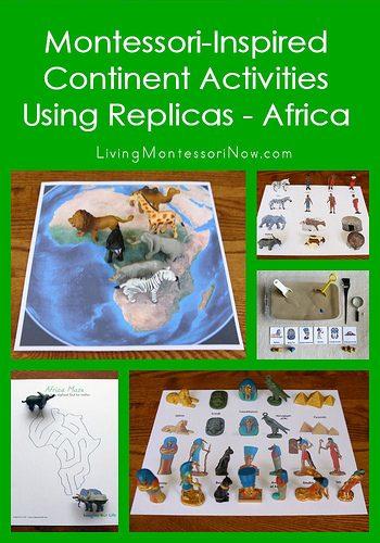 Montessori-Inspired Continent Activities Using Replicas - Africa