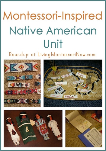 Montessori Monday – Montessori-Inspired Native American Unit