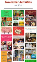 November Themed Activities for Kids