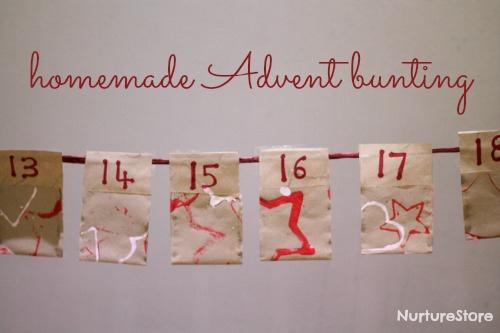 Easy Homemade Advent Calendar (Photo from Nurutre Store)